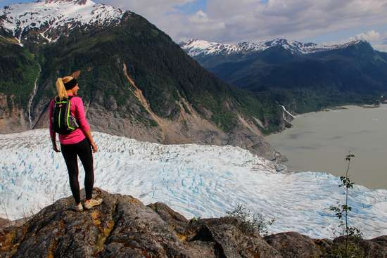 Mendenhall Glacier Adventure Hiking