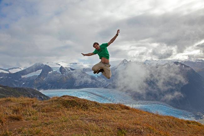 Eric-WestGlacier-Jump
