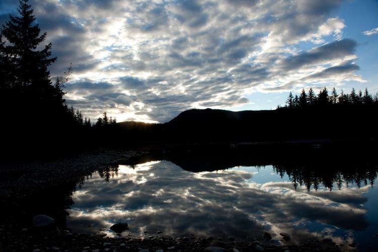 Rolling Clouds in Alaska