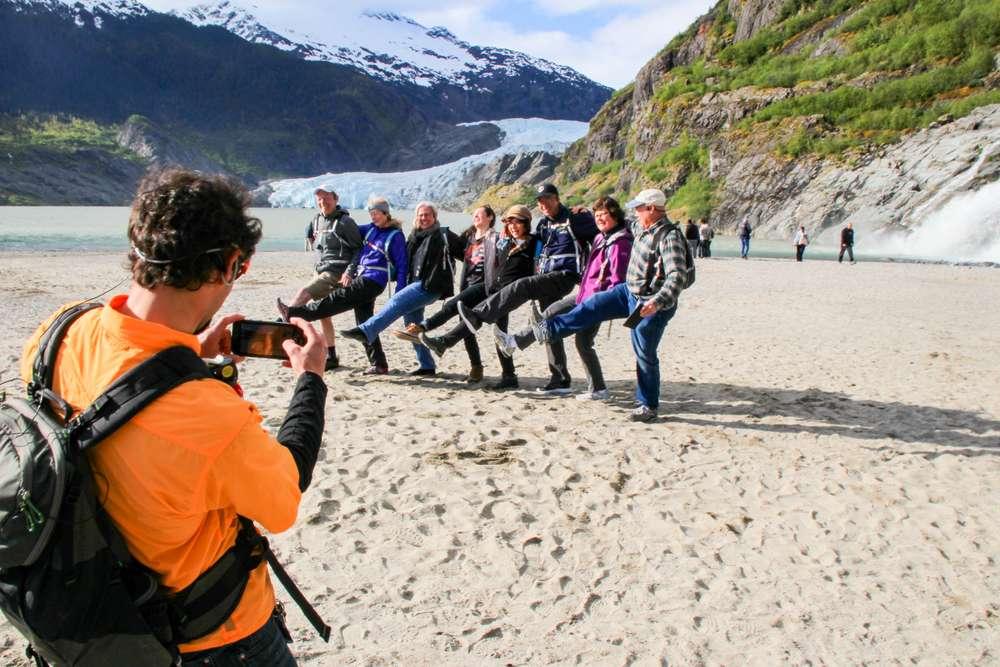 Glacier, Forest, & Falls Smart Photo Hike