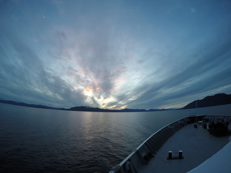 Getting to Southeast Alaska