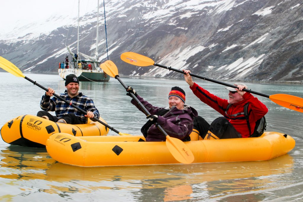 Kokopelli Packrafts in Glacier Bay National Park