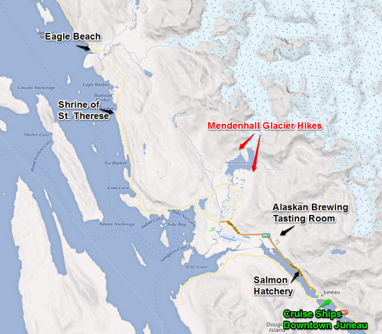 Adventure Hiking Tour in Juneau Alaska Adventure Flow